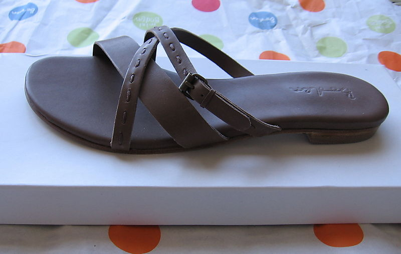 Boden sandal side view